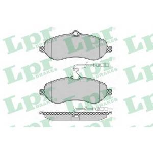 LPR 05P1348 Тормозные колодки