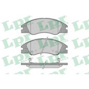 LPR 05P1349 Тормозные колодки