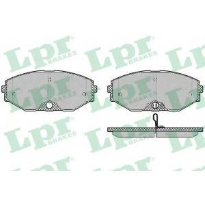 LPR 05P1357 Тормозные колодки дисковые