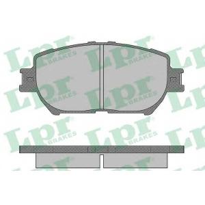 LPR 05P1361 Тормозные колодки