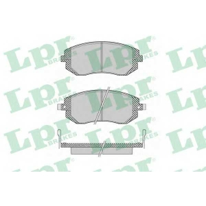LPR 05P1363 Тормозные колодки дисковые