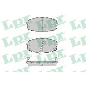 LPR 05P1375 Тормозные колодки дисковые