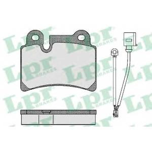 LPR 05P1380 Тормозные колодки дисковые