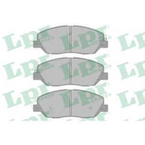LPR 05P1382 Тормозные колодки дисковые