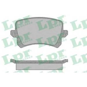 LPR 05P1390 Тормозные колодки