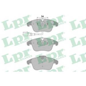 Комплект тормозных колодок, дисковый тормоз 05p1392 lpr - SEAT ALHAMBRA (710) вэн 1.4 TSI