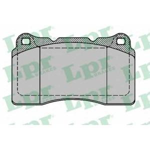 LPR 05P1394 Комплект тормозных колодок, дисковый тормоз