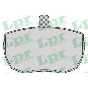 LPR 05P140 SF2205 Тормозные колодки