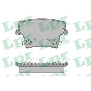 LPR 05P1400 Тормозные колодки дисковые