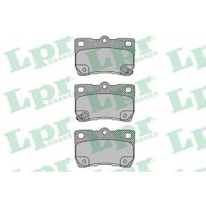 LPR 05P1407 Тормозные колодки дисковые