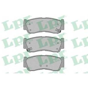 LPR 05P1417 Тормозные колодки дисковые