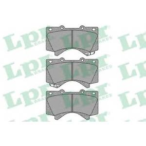 Комплект тормозных колодок, дисковый тормоз 05p1418 lpr - LEXUS LX (URJ201) вездеход закрытый 570 4x4