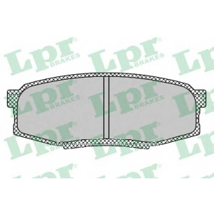 LPR 05P1419 Тормозные колодки дисковые