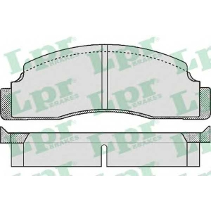 LPR 05P142 Brake Pad