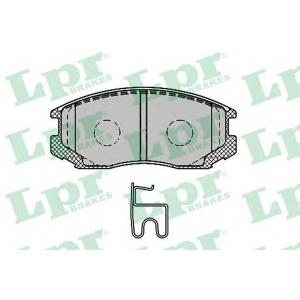 LPR 05P1427 Комплект тормозных колодок, дисковый тормоз Дайхатсу Астраи
