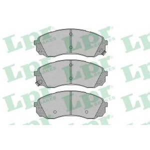 LPR 05P1451 Тормозные колодки дисковые
