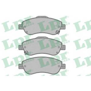LPR 05P1456 Тормозные колодки дисковые