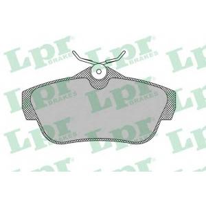 LPR 05P1460 Тормозные колодки
