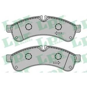LPR 05P1461 Тормозные колодки дисковые