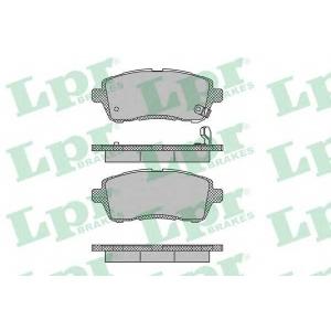LPR 05P1464 Тормозные колодки дисковые