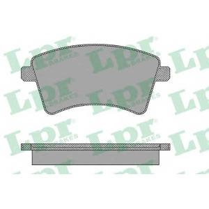 LPR 05P1465 Тормозные колодки дисковые