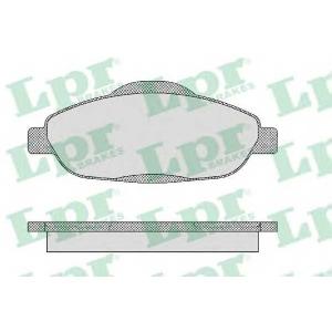 LPR 05P1471 Тормозные колодки