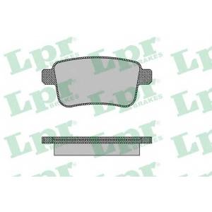 LPR 05P1487 Тормозные колодки дисковые