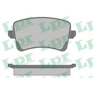 LPR 05P1489 Гальмівні колодки, дискові