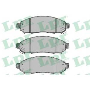 Комплект тормозных колодок, дисковый тормоз 05p1495 lpr - NISSAN NAVARA (D40) пикап 2.5 dCi 4WD