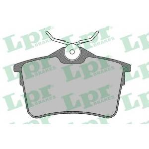 LPR 05P1500 Тормозные колодки дисковые