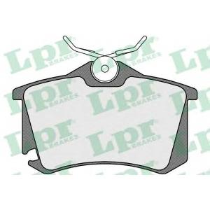 LPR 05P1508 Тормозные колодки