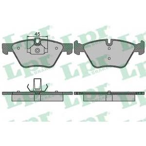LPR 05P1512 Тормозные колодки дисковые