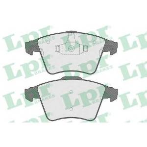 LPR 05P1526 Тормозные колодки дисковые
