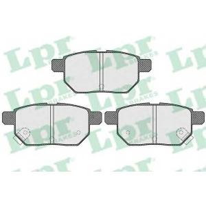LPR 05P1530 Тормозные колодки