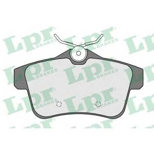 LPR 05P1567 Гальмівні колодки, дискові