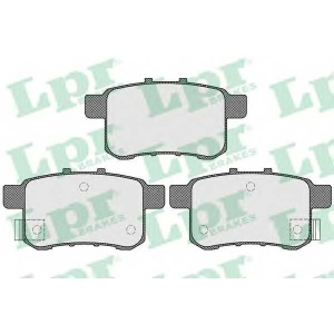 LPR 05P1569 Тормозные колодки дисковые