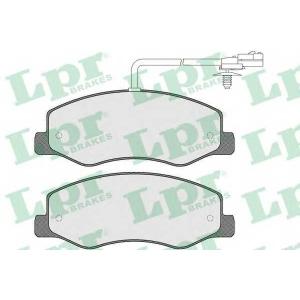 LPR 05P1570 Тормозные колодки