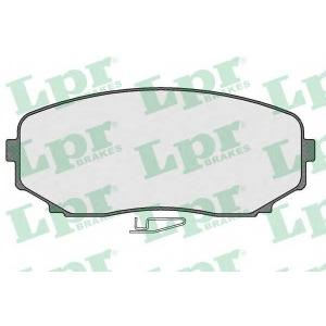 LPR 05P1573 Тормозные колодки дисковые