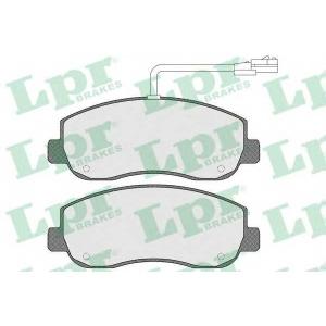 LPR 05P1579 Тормозные колодки