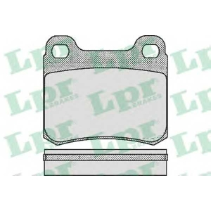 LPR 05P158 SF2358 Тормозные колодки
