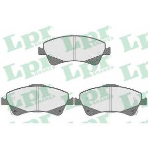 LPR 05P1589 Тормозные колодки дисковые