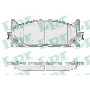 Комплект тормозных колодок, дисковый тормоз 05p1593 lpr - TOYOTA CAMRY седан (_XV4_) седан 2.4 VVT-i Hybrid