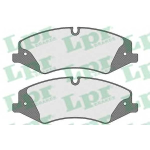 LPR 05P1600 Тормозные колодки передние Range Rover III 3.6D/5.0 04.06-08.12