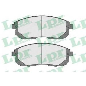LPR 05P1606 Тормозные колодки