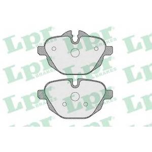LPR 05P1618 Гальмівні колодки, дискові