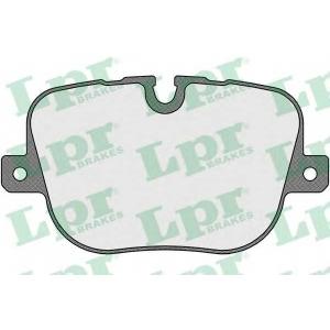 Комплект тормозных колодок, дисковый тормоз 05p1652 lpr - LAND ROVER RANGE ROVER III (LM) вездеход закрытый 4.4 TD V8