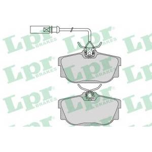 LPR 05P1699 Тормозные колодки дисковые