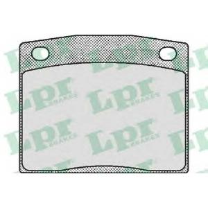 LPR 05P173 Brake Pad