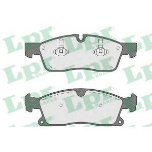 LPR 05P1735 Тормозные колодки
