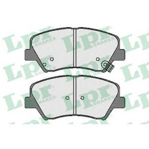 LPR 05P1744 Тормозные колодки
